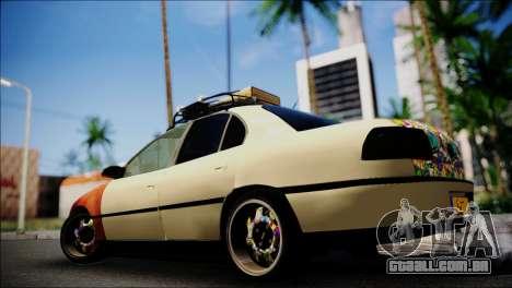 Opel Omega RAT para GTA San Andreas esquerda vista