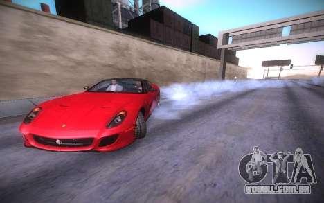 ENB infinity Beta Edition para GTA San Andreas