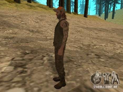 Cletus Ewing de GTA V para GTA San Andreas por diante tela