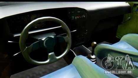 Dacia 1300 B 89 WRC para GTA San Andreas vista direita
