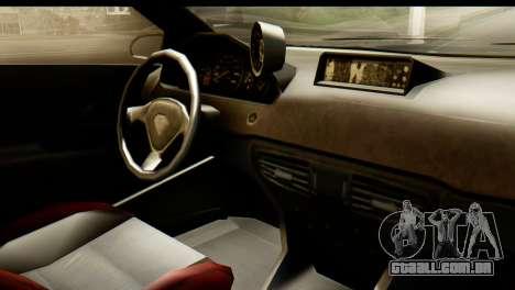 GTA 5 Benefactor Schwartzer IVF para GTA San Andreas vista traseira
