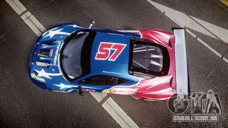 Ferrari 458 GT2 Stevenson Racing para GTA 4 vista direita