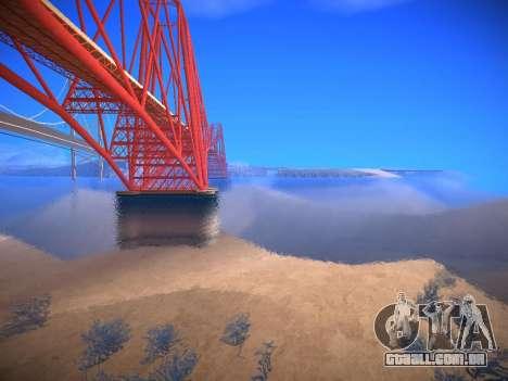 ENB infinity Beta Edition para GTA San Andreas segunda tela