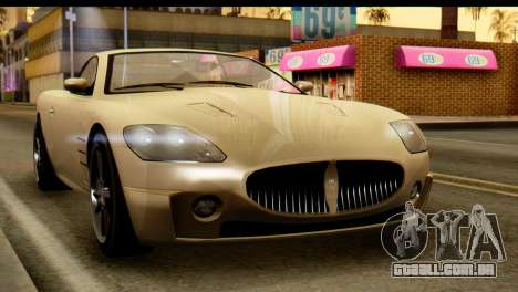 GTA 5 Ocelot F620 v2 para GTA San Andreas