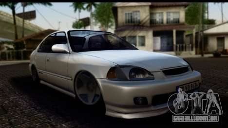 Honda Civic Park Garage para GTA San Andreas