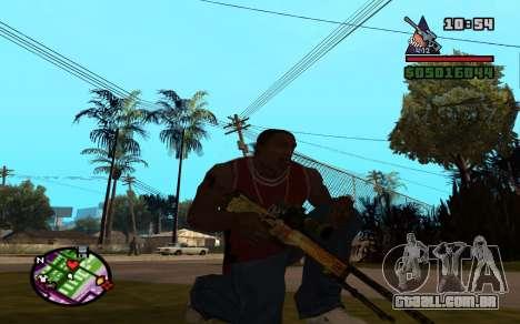 AWP Dragon Lore CS:GO para GTA San Andreas segunda tela