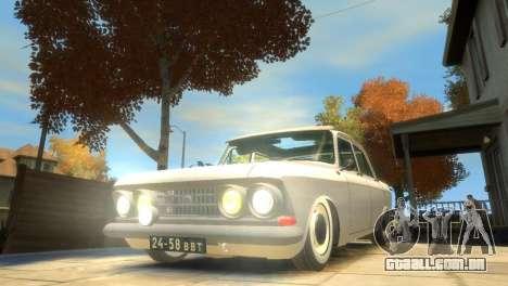 Moskvich 412 para GTA 4 interior