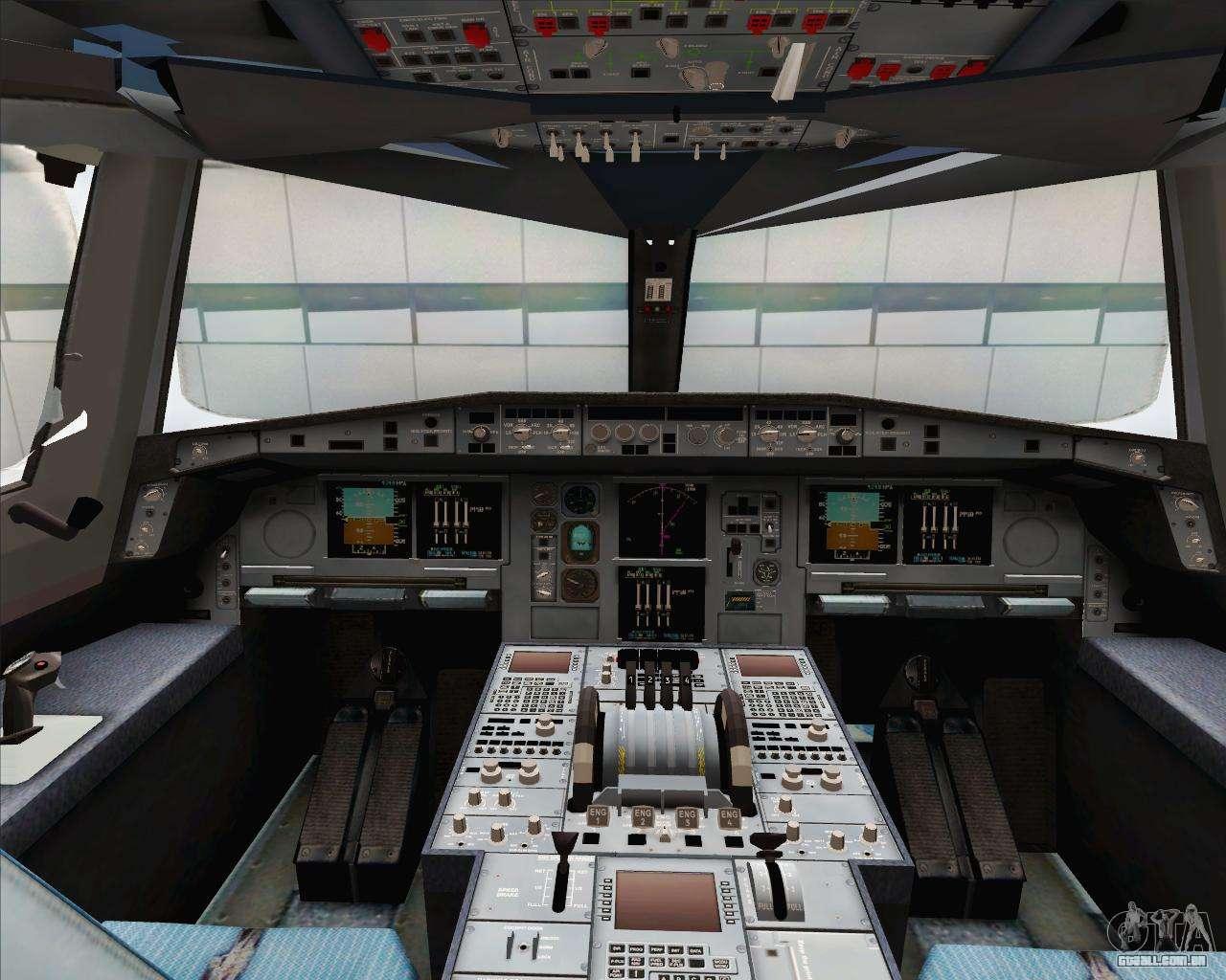 Airbus a380 800 emirates a6 edj para gta san andreas for Airbus a380 interior