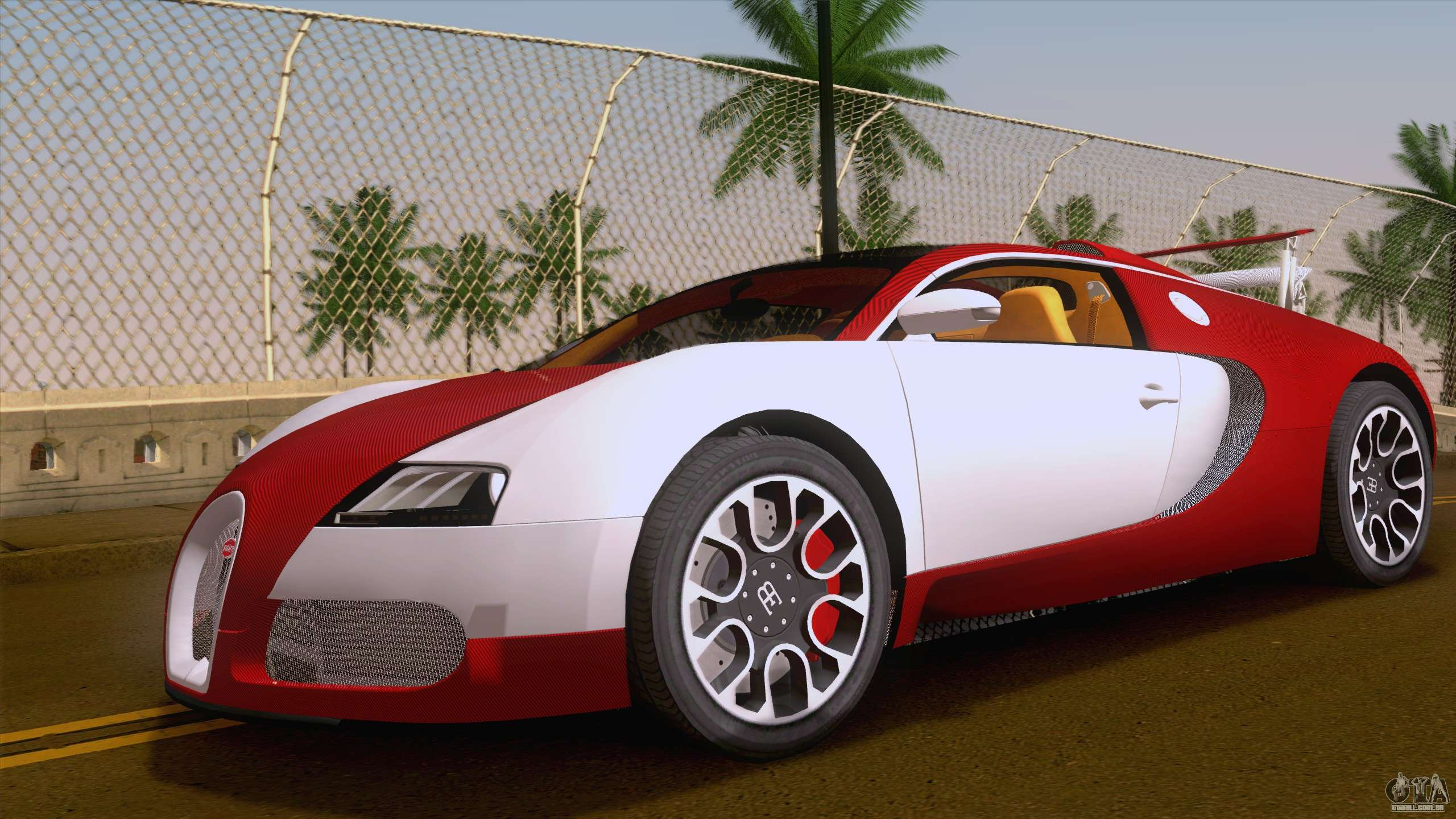 bugatti veyron grand sport sang bleu 2008 para gta san andreas. Black Bedroom Furniture Sets. Home Design Ideas
