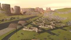Greening o deserto para GTA San Andreas