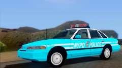 Ford Crown Victoria NYPD Blue para GTA San Andreas