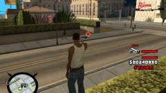 HUD by LokoMoko para GTA San Andreas