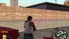 C-HUD Ghetto King para GTA San Andreas