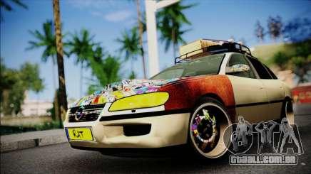 Opel Omega RAT para GTA San Andreas