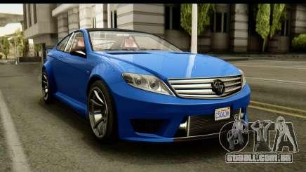 GTA 5 Benefactor Schwartzer IVF para GTA San Andreas