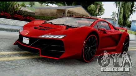 GTA 5 Pegassi Zentorno para GTA San Andreas