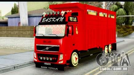 Volvo FH16 Hal Kamyonu para GTA San Andreas