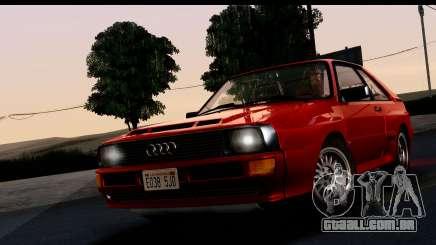 Audi Sport Quattro B2 (Typ 85Q) 1983 [IVF] para GTA San Andreas