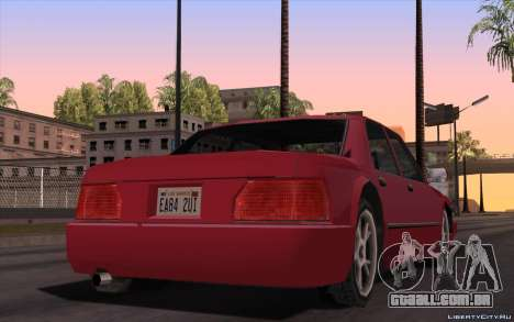 ENB for Tweak PC para GTA San Andreas terceira tela