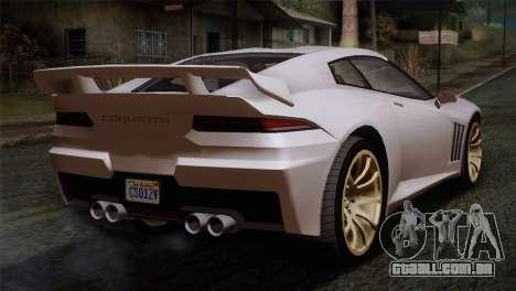 GTA 5 Bravado Banshee SA Mobile para GTA San Andreas esquerda vista