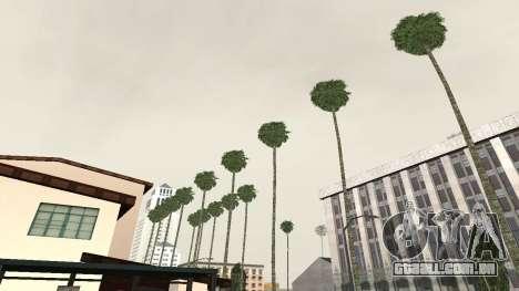 Estradas e vegetação Los Santos para GTA San Andreas segunda tela