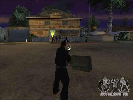 CABO de alimentação para GTA San Andreas oitavo tela