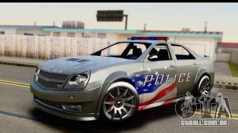 EFLC TBoGT Albany Police Stinger SA Mobile para GTA San Andreas