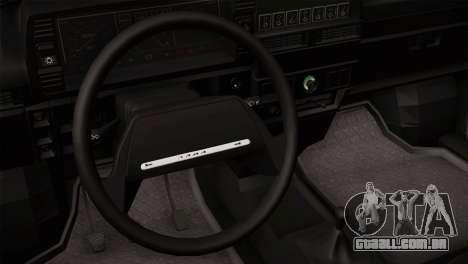 VAZ 2108 Escoamento para GTA San Andreas vista direita