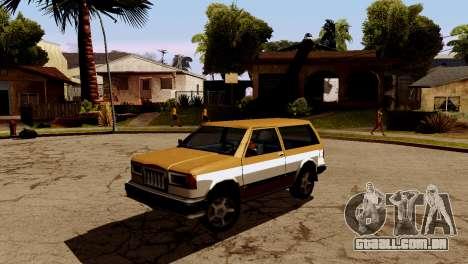 DLC garagem do GTA online de transporte novo para GTA San Andreas