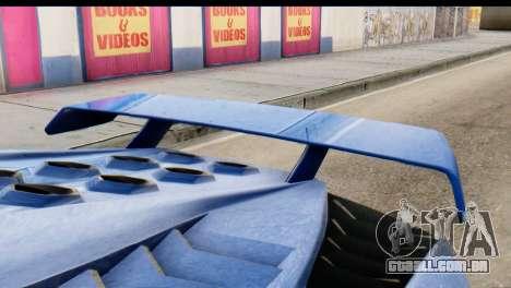 GTA 5 Pegassi Zentorno v2 para GTA San Andreas vista direita