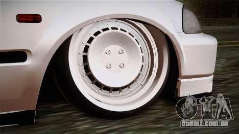 Honda Civic TnTuning para GTA San Andreas traseira esquerda vista