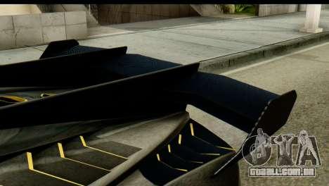 GTA 5 Pegassi Zentorno v2 SA Mobile para GTA San Andreas traseira esquerda vista