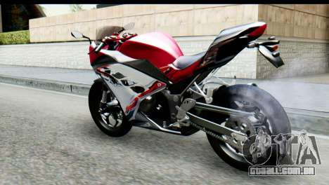 Kawasaki Ninja 250 Fi para GTA San Andreas esquerda vista