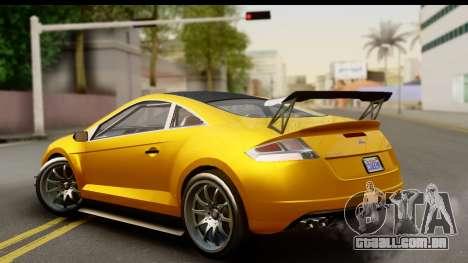 GTA 5 Maibatsu Penumbra para GTA San Andreas esquerda vista