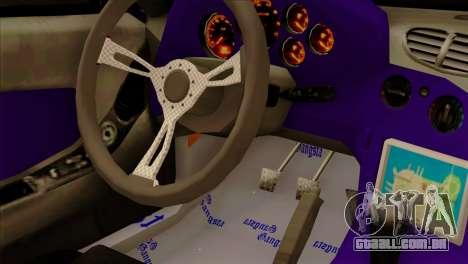Mazda RX-7 Gangsta Club para GTA San Andreas vista traseira