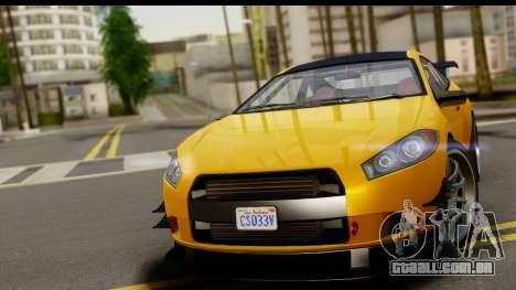 GTA 5 Maibatsu Penumbra para GTA San Andreas traseira esquerda vista