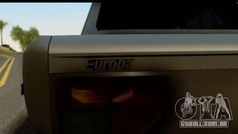 Fiat 128 para GTA San Andreas traseira esquerda vista