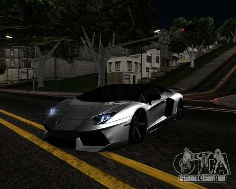 HDX ENB Series para GTA San Andreas por diante tela