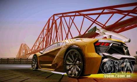 ANCG ENB para baixa de PC para GTA San Andreas quinto tela