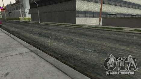 Estradas e vegetação Los Santos para GTA San Andreas terceira tela