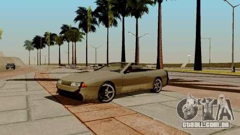 DLC garagem do GTA online de transporte novo para GTA San Andreas nono tela