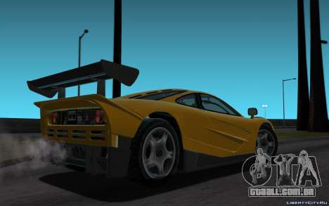 ENB for Tweak PC para GTA San Andreas sexta tela