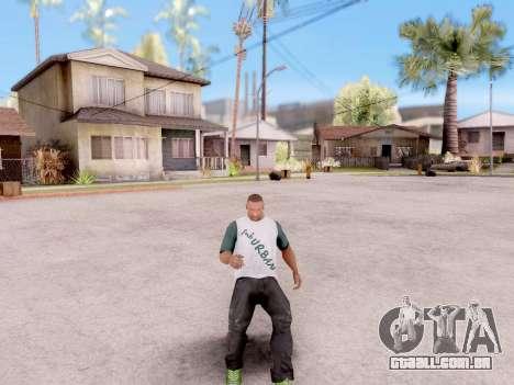 Real animações de GTA 5 para GTA San Andreas