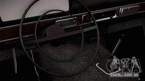 ВАЗ 2101 Bateu Laranja para GTA San Andreas vista direita