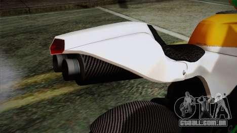 GTA 5 Bati Indian para GTA San Andreas vista traseira