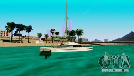 DLC garagem do GTA online de transporte novo para GTA San Andreas sexta tela