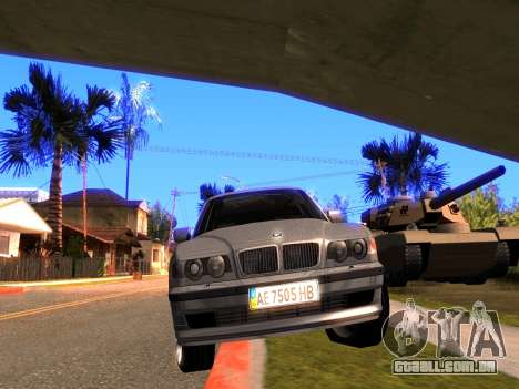 BMW 740i BL para GTA San Andreas