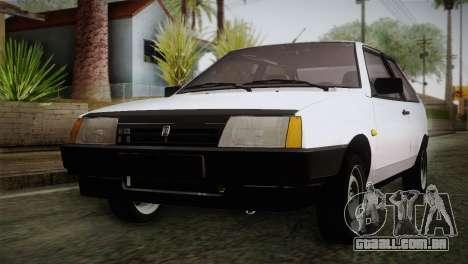 VAZ 2108 Escoamento para GTA San Andreas