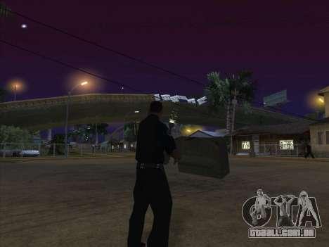 CABO de alimentação para GTA San Andreas quinto tela