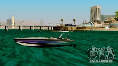 DLC garagem do GTA online de transporte novo para GTA San Andreas sétima tela